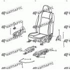 Сиденье пассажира - накладки и ручки